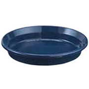 鉢皿F型8号 ブルー