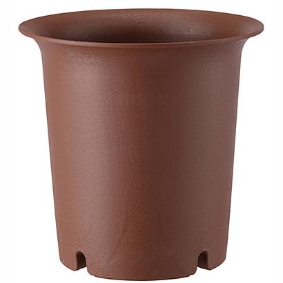 陶鉢 深型4号 えび茶