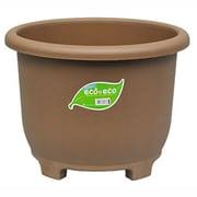 eco&ecoウインプランター丸32型 エコブラウン