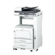 LP-M53AZC5 [A3対応 カラーページプリンター プリント/スキャン/コピー機能搭載 有線ネットワーク/両面印刷/ADF対応 専用ラック・増設カセットセットモデル]