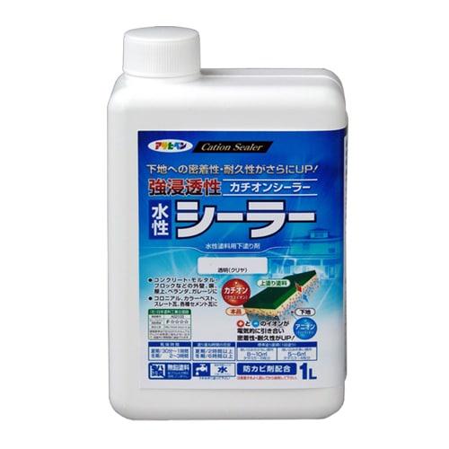 強浸透性水性シーラー [1L 透明(クリヤ)]