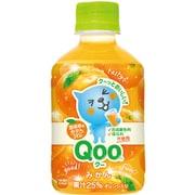 MM Qoo わくわくみかん PET280ml×24本 [果実果汁飲料]
