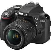 D3300 18-55 VR II レンズキット ブラック [ボディ+交換レンズ「AF-S DX NIKKOR 18-55mm f/3.5-5.6G VR II」]