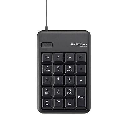TK-TCM011BK [USB テンキーパッド メンブレン ブラック]