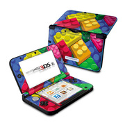 Nintendo 3DS LL Skin Bricks [3DS LL用 ドレスアップシール]