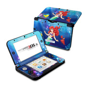 Nintendo 3DS LL Skin Little Mermaid [3DS LL用 ドレスアップシール]