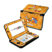 Nintendo 3DS LL Skin Pooh Puzzle [3DS LL用 ドレスアップシール]