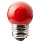 SIGN7WRD [白熱電球 サイン球 E26口金 7W レッド]