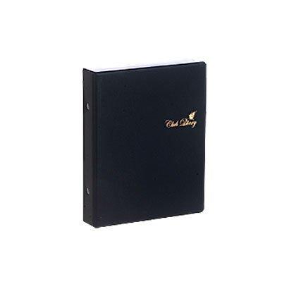 バインダーセット GOLD-1Y シック 黒 2014-1-12 [バインダー付きリフィルセット]