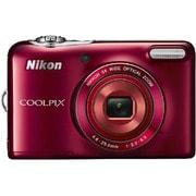 COOLPIX(クールピクス) L30 RD [コンパクトデジタルカメラ 単3電池対応 レッド]