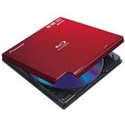 BDR-XD05R [Windows/Mac両対応 USB3.0接続 BDXL対応 外付型ポータブル Blu-ray3D再生対応 BD/DVD/CDライター ワインレッド]