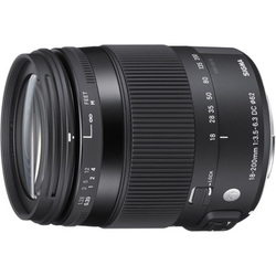18-200mm F3.5-6.3 DC MACRO OS HSM [Contemporaryライン 18-200mm/F3.5-6.3 ニコンFマウント APS-Cサイズ用レンズ]