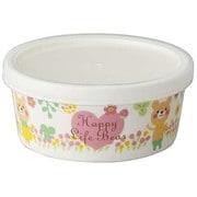 CHKP11ハッピーライフベアPパック小鉢 [Happy Life Bear ハッピーライフベア パック小鉢(磁器製) ピンク]