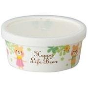 CHKP11ハッピーライフベアGパック小鉢 [Happy Life Bear ハッピーライフベア パック小鉢(磁器製) グリーン]