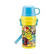 ポケモンXY イエロー PSB5KD 直飲みコップ付きプラ水筒 [子供用 直飲みコップ付き水筒 480ml ポケットモンスターXY イエロー]