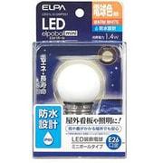 LDG1L-G-GWP251 [LED電球 装飾電球 ミニボール球形 G40 E26口金 電球色 55lm 防水 LED elpaball mini エルパボール ミニ]