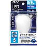 LDS1N-G-GWP900 [LED電球 E26口金 昼白色 60lm 防水 LED elpaball mini(エルパボール ミニ)]