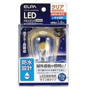 LDS1CL-G-GWP906 [LED電球 E26口金 電球色 クリア 55lm 防水 LED elpaball mini(エルパボール ミニ)]