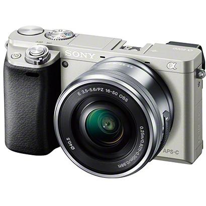 ILCE-6000L S [α6000 (アルファ6000) パワーズームレンズキット ボディ+交換レンズ「E PZ 16-50mm F3.5-5.6 OSS」 シルバー]