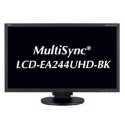 LCD-EA244UHD-BK [MultiSync 23.8型ワイド液晶モニター ブラック]