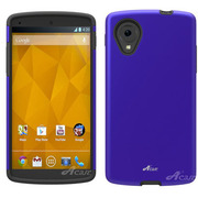 AC-GN5CSDL02-BL [Nexus5用 衝撃吸収ハイブリッドケース Superleggera Pro ブルー]