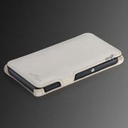 AC-XZ1CSSL02-WH [Xperia Z1用 PU(ポリウレタン)レザーケース スタンド機能付 Slim ホワイト]
