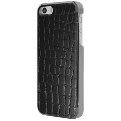 ICC BK-L [IC-COVER Leather ICカード対応 iPhone 5S/5専用ケース レザー調ブラック]
