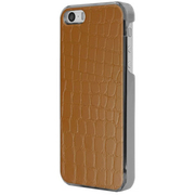 ICC BR-L [IC-COVER Leather ICカード対応 iPhone 5S/5専用ケース レザー調ブラウン]