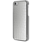 ICC SI-L [IC-COVER Leather ICカード対応 iPhone 5S/5専用ケース レザー調シルバー]