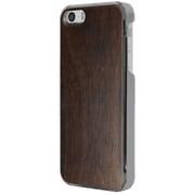 ICC WN [IC-COVER Leather ICカード対応 iPhone 5S/5専用ケース 木目調ウォールナット]