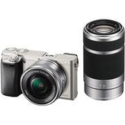 ILCE-6000Y S JE3 [α(アルファ)6000 ダブルズームレンズキット ボディ+交換レンズ「E PZ 16-50mm F3.5-5.6 OSS」「E 55-210mm F4.5-6.3 OSS」 シルバー 海外仕様]