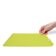 Pre-mier つかみやすい抗菌シートまな板2 グリーン アイボリー [2枚セット 263×192×10ミリ]