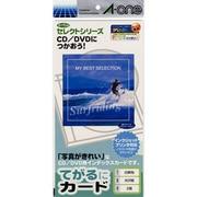 80062 [てがるにカード光沢紙 CD/DVD用インデックスカード2面]