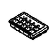CNRAH-270000 [冷蔵庫用 製氷皿]
