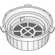 ACB28-150K0U [コーヒーメーカー用 活性炭フィルター]