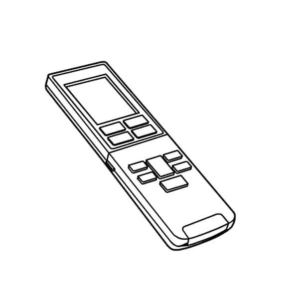 CWA75C3954X [エアコン用リモコン リモコンホルダー付き]