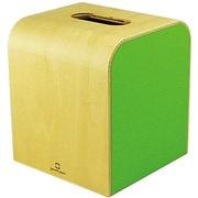 YK08-103Lgr [COLOR MINI ティッシュケース 黄緑色]