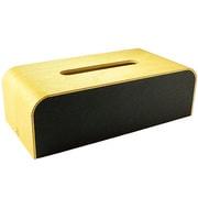 YK05-108Bk [COLOR-BOX ミニ ティッシュケース 黒色]