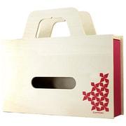 YK11-103-Pk [BAG tissue ティッシュケース&小物ケース W ピンク]