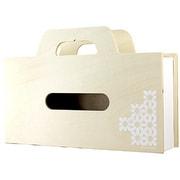 YK11-104-Wh [BAG tissue(ティッシュケース&小物ケース) S ホワイト]