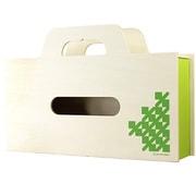 YK11-104-Lgr [BAG tissue(ティッシュケース&小物ケース) S ライトグリーン]
