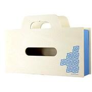 YK11-104-Lbl [BAG tissue(ティッシュケース&小物ケース) S ライトブルー]
