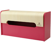 YK12-103-Pk [WRAP BOX ラップ型ティッシュケース ピンク]