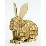 Wooden Art kiーguーmi ウサギ [対象年齢15歳以上]