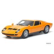 EM287B [1/43 ランボルギーニ ミウラ P400S 1968 オレンジ&ブラック]
