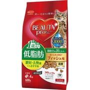 ビューティープロ キャット 成猫用 低脂肪 600g [猫用 1歳から 150g×4袋]