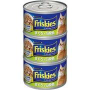 フリスキー トール缶 まぐろと白身魚 [猫用 155g×3缶]