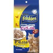 フリスキートールパウチ かつおとささみ [猫用 120g×3袋]