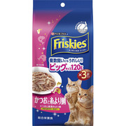 フリスキートールパウチ かつおと糸より鯛 [猫用 120g×3袋]