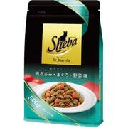 SDM02 シーバ ドゥマルシェ まぐろ・鶏ささみ・野菜の風味が香る彩りディッシュ500g [キャットフード ドライ]